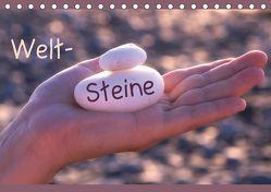 Welt-Steine (Tischkalender 2019 DIN A5 quer)