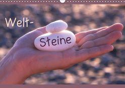 Welt-Steine (Wandkalender 2019 DIN A3 quer) von Flori0