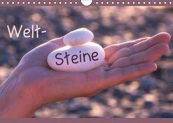 Welt-Steine (Wandkalender 2019 DIN A4 quer) von Flori0