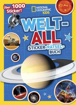 Weltall Sticker-Rätsel-Buch mit über 1000 Stickern