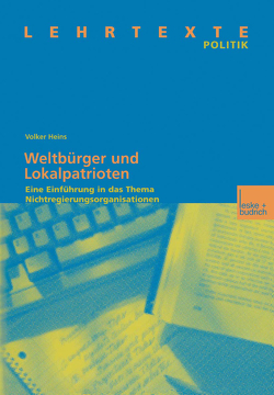 Weltbürger und Lokalpatrioten von Heins,  Volker