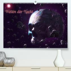 Welten der Nacht – Gothic und Dark ArtAT-Version (Premium, hochwertiger DIN A2 Wandkalender 2021, Kunstdruck in Hochglanz) von Schröder,  Karsten