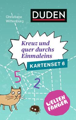 Weltenfänger: Kreuz und quer durch's Einmaleins (Kartenset) von Töpperwien,  Meike, Wittenburg,  Christiane