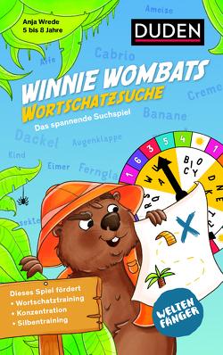 Weltenfänger: Winnie Wombats Wortschatzsuche (Spiel) von Wrede,  Anja