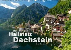 Welterberegion Hallstatt Dachstein (Wandkalender 2018 DIN A2 quer) von Schickert,  Peter