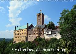 Welterbestätten in Europa (Wandkalender 2020 DIN A2 quer) von Gerstner,  Wolfgang