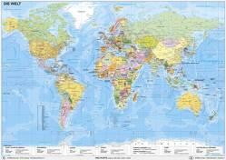 Weltkarte politisch von Stiefel,  Heinrich