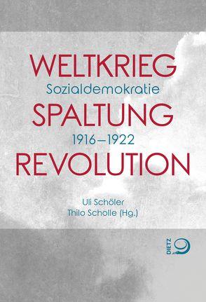 Weltkrieg. Spaltung. Revolution von Schöler,  Uli, Scholle,  Thilo