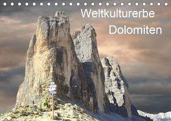 Weltkulturerbe Dolomiten Süd Tirol (Tischkalender 2019 DIN A5 quer) von Rufotos