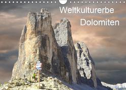 Weltkulturerbe Dolomiten Süd Tirol (Wandkalender 2019 DIN A4 quer) von Rufotos