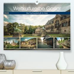 Weltkulturerbe Goslar (Premium, hochwertiger DIN A2 Wandkalender 2020, Kunstdruck in Hochglanz) von Gierok / Magic Artist Design,  Steffen