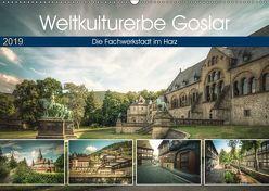 Weltkulturerbe Goslar (Wandkalender 2019 DIN A2 quer) von Gierok / Magic Artist Design,  Steffen