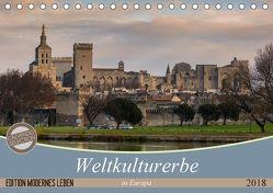 Weltkulturerbe in Europa (Tischkalender 2018 DIN A5 quer) von Steiner und Matthias Konrad,  Carmen