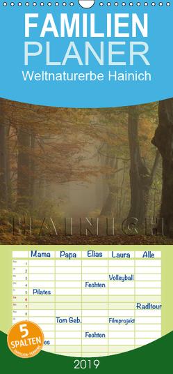 Weltnaturerbe Hainich – Familienplaner hoch (Wandkalender 2019 , 21 cm x 45 cm, hoch) von Weise,  Ralf
