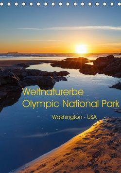 Weltnaturerbe Olympic National Park (Tischkalender 2018 DIN A5 hoch) von Klinder,  Thomas