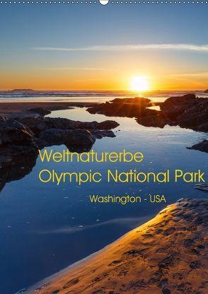 Weltnaturerbe Olympic National Park (Wandkalender 2018 DIN A2 hoch) von Klinder,  Thomas