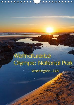 Weltnaturerbe Olympic National Park (Wandkalender 2018 DIN A4 hoch) von Klinder,  Thomas