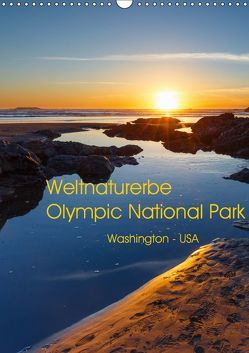Weltnaturerbe Olympic National Park (Wandkalender 2019 DIN A3 hoch) von Klinder,  Thomas