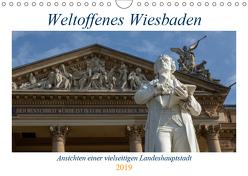 Weltoffenes Wiesbaden (Wandkalender 2019 DIN A4 quer) von Lischewski,  Axel