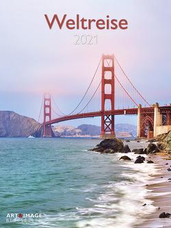 Weltreise 2021 – Foto-Kalender – Poster-Kalender – A&I – 48×64 – Reisen