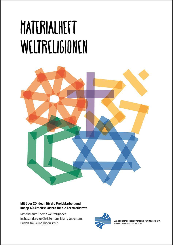 Weltreligionen Materialheft von Harmsen, Rieke C.: