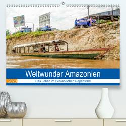 Weltwunder Amazonien (Premium, hochwertiger DIN A2 Wandkalender 2020, Kunstdruck in Hochglanz) von Nawrocki,  Markus
