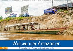Weltwunder Amazonien (Wandkalender 2020 DIN A2 quer) von Nawrocki,  Markus