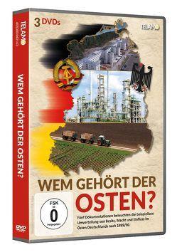 Wem gehört der Osten? von Hofmann,  Lutz, Jabs,  Martin, Pehnert,  Lutz, Riecker,  Adriane