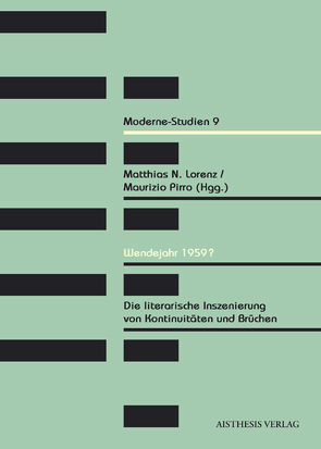 Wendejahr 1959? von Birkmeyer,  Jens, Chilese,  Viviana, Colin,  Nicole, De Petris,  Andrea, Fischer,  Torben, Goer,  Charis, Lampert,  Fabian, Lorenz,  Matthias N, Müller,  Oliver, Nelva,  Daniela, Ölke,  Martina, Pirro,  Maurizio, Siemens,  Daniel, Sisto,  Michele, Wetzel,  Juliane, Weyer,  Anselm