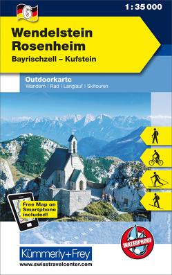Wendelstein – Rosenheim, Bayrischzell, Kufstein, Nr. 06 Outdoorkarte Deutschland 1:35 000