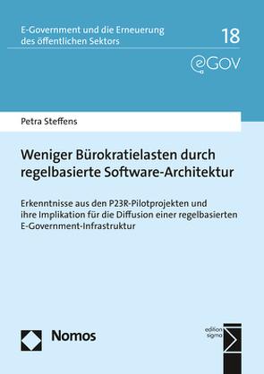 Weniger Bürokratielasten durch regelbasierte Software-Architektur von Steffens,  Petra