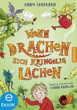 Wenn Drachen sich kringelig lachen von Ludwig,  Sabine, Ogilvie,  Sara, Shepherd,  Andy