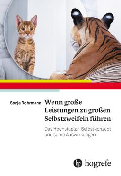 Wenn große Leistungen zu großen Selbstzweifeln führen von Rohrmann,  Sonja
