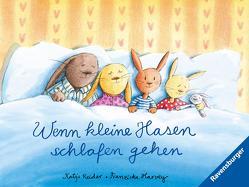 Wenn kleine Hasen schlafen gehen von Harvey,  Franziska, Reider,  Katja