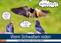 Wenn Schwalben reden (Wandkalender 2019 DIN A2 quer) von P. Frischmuth,  Uwe