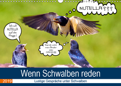 Wenn Schwalben reden (Wandkalender 2019 DIN A3 quer) von P. Frischmuth,  Uwe