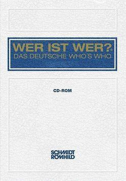 WER IST WER? – DAS DEUTSCHE WHO'S WHO 50. Ausgabe 2011/12 (CD-ROM) von Habel,  Walter