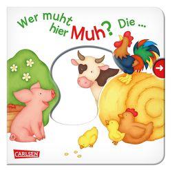 Wer muht hier Muh? Die … Kuh! – Großausgabe von Dolinger,  Igor, Hofmann,  Julia