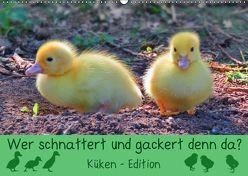 Wer schnattert und gackert denn da? – Küken-Edition (Wandkalender 2019 DIN A2 quer) von Löwer,  Sabine