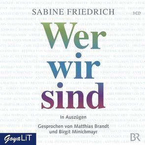 Wer wir sind von Friedrich,  Sabine, Uter,  Jürgen