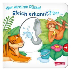 Wer wird am Rüssel gleich erkannt? Der … Elefant! – Großausgabe – ab 18 Monaten von Dolinger,  Igor, Grimm,  Sandra
