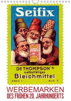 Werbemarken des frühen 20. Jahrhunderts (Wandkalender 2019 DIN A4 hoch)