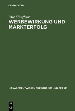 Werbewirkung und Markterfolg von Ellinghaus,  Uwe