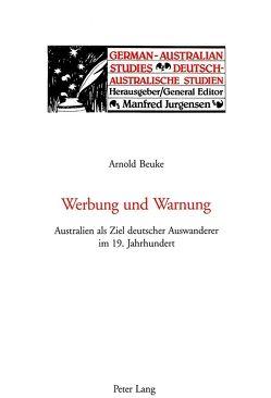 Werbung und Warnung von Beuke,  Arnold