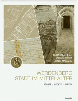 Werdenberg – Stadt im Mittelalter von Gabathuler,  Heinz, Krumm,  Carolin, Malamud,  Sibylle