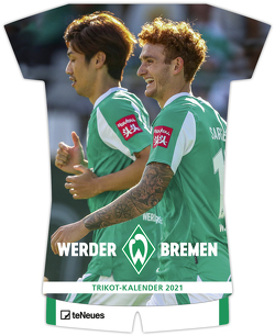 Werder Bremen 2021 – Trikotkalender – Fankalender – Fußball-Kalender – 34×42 – Sport