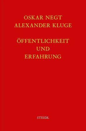 Werkausgabe Bd. 4 / Öffentlichkeit und Erfahrung von Kluge,  Alexander, Negt,  Oskar