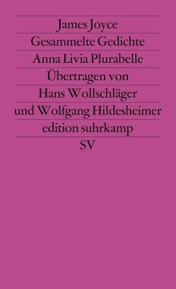 Werkausgabe in sechs Bänden in der edition suhrkamp von Hildesheimer,  Wolfgang, Joyce,  James, Wollschläger,  Hans