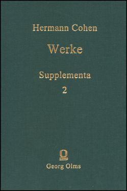 Werke von Cohen,  Hermann, Wiedebach,  Hartwig