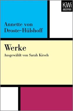 Werke von Droste-Hülshoff,  Annette von, Kirsch,  Sarah